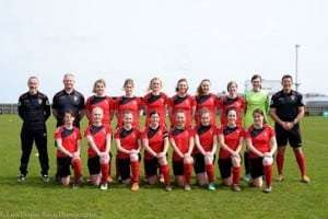Sleaford Town Ladies Win EMWFL Plate Final