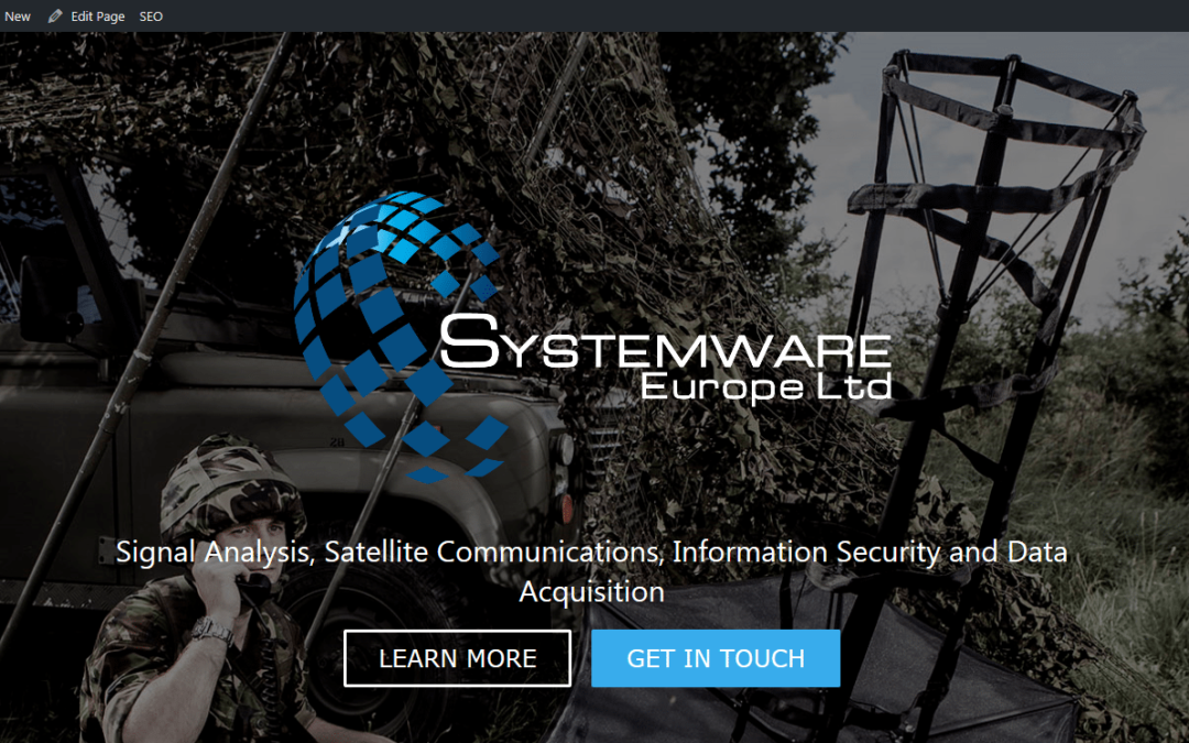 SystemWare Europe Launch New Website
